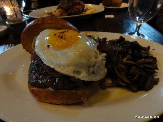 Wayfare Tavern Burger