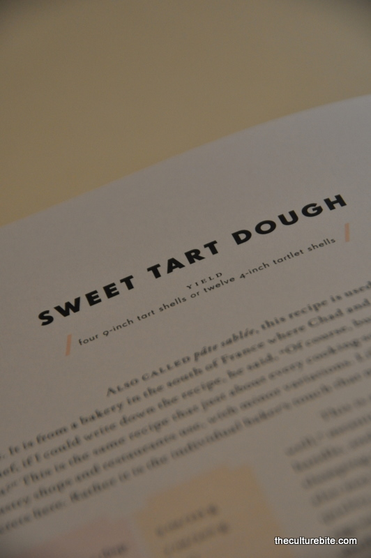 Tartine Sweet Tart Dough