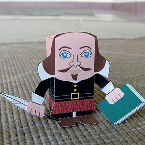 Image of William Shakespeare.