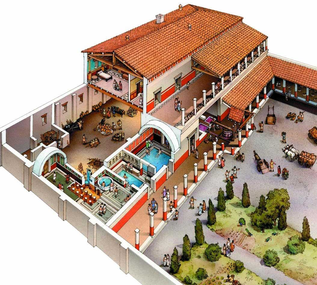 An Ancient Roman Villa