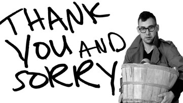 Jack Antonoff Thank You and Sorry web series Google Play