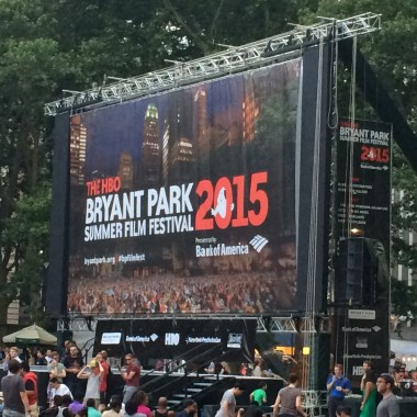 'Ghostbusters' Kicked Off The HBO Bryant Park Summer Film Festival 2015