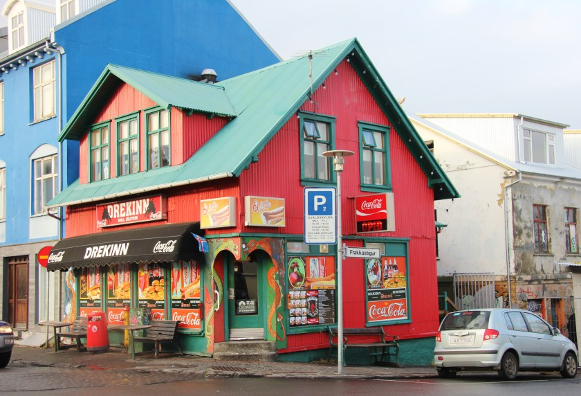The Colourful Buildings And Street Art Of Reykjavik