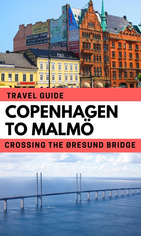 Crossing the Bridge from Copenhagen to Malmo – Just Do It