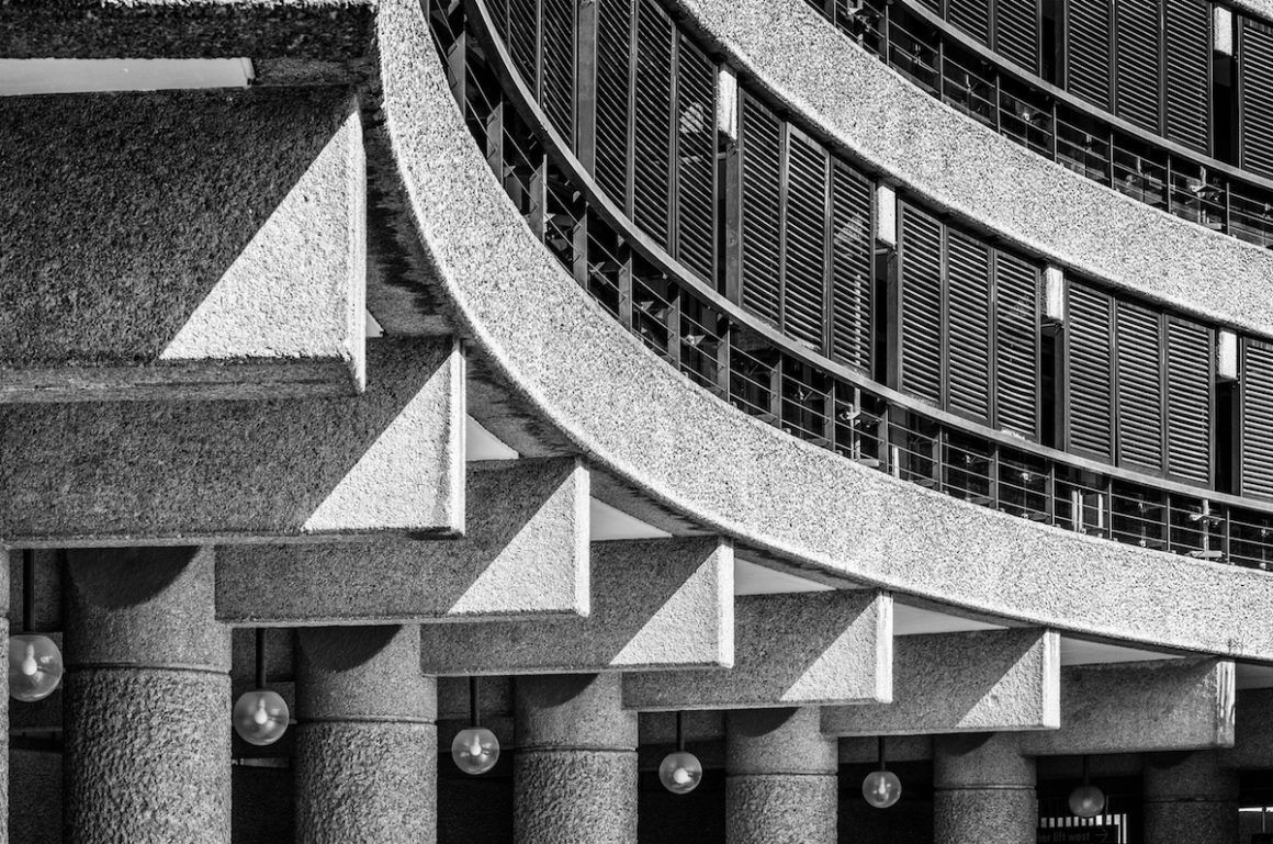 The Barbican estate - where to find brutalist architecture in London