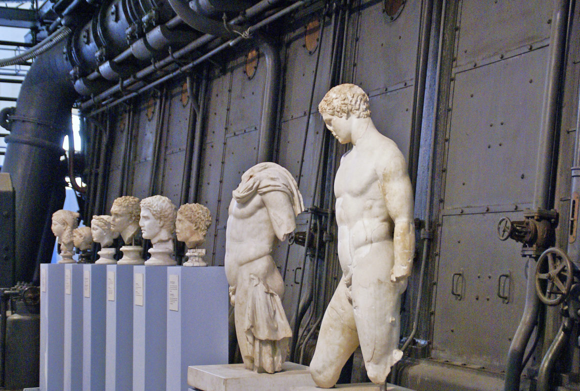 Centrale Montemartini museum - quirky and unusual things to do in Rome
