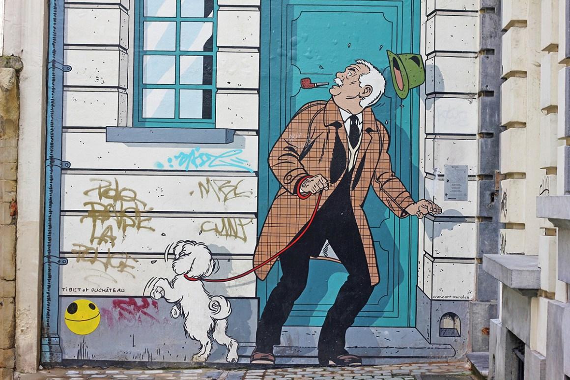 Comic book murals / street art in Brussels