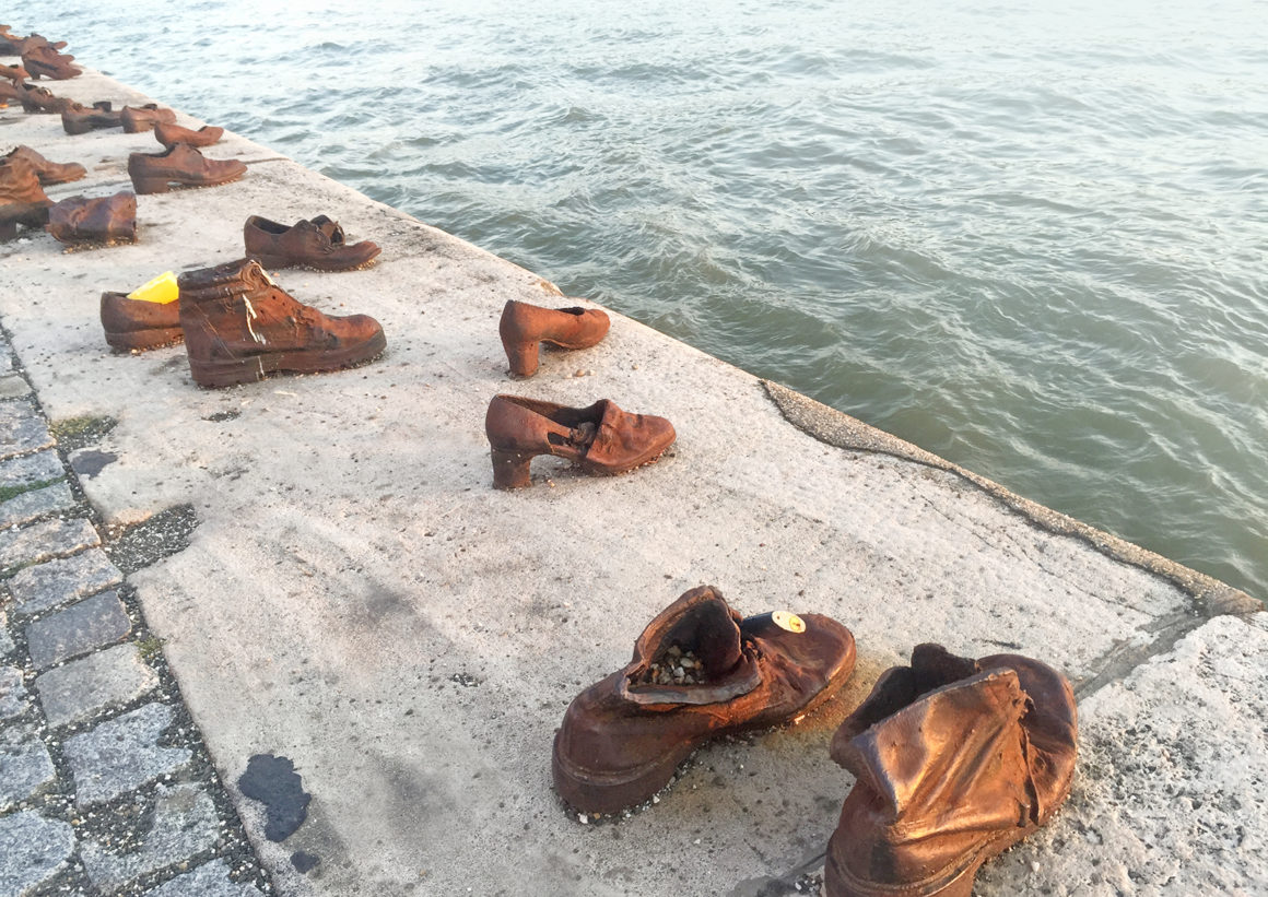 Shoes on the Danube Bank - War Memorial in Budapest