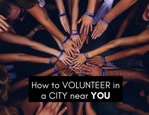 How to volunteer in a city near you