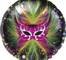carnaval mask balloon