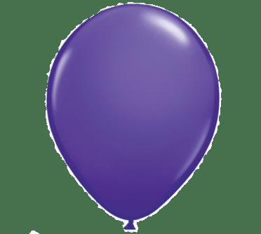 standard purple latex balloon