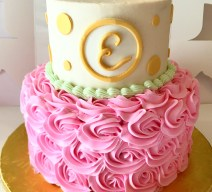 Personalized Baby Shower Cake
