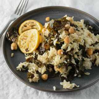lemon chickpeas and rice