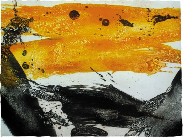 Ross Loveday, Rhythm of the heat, carborundum print