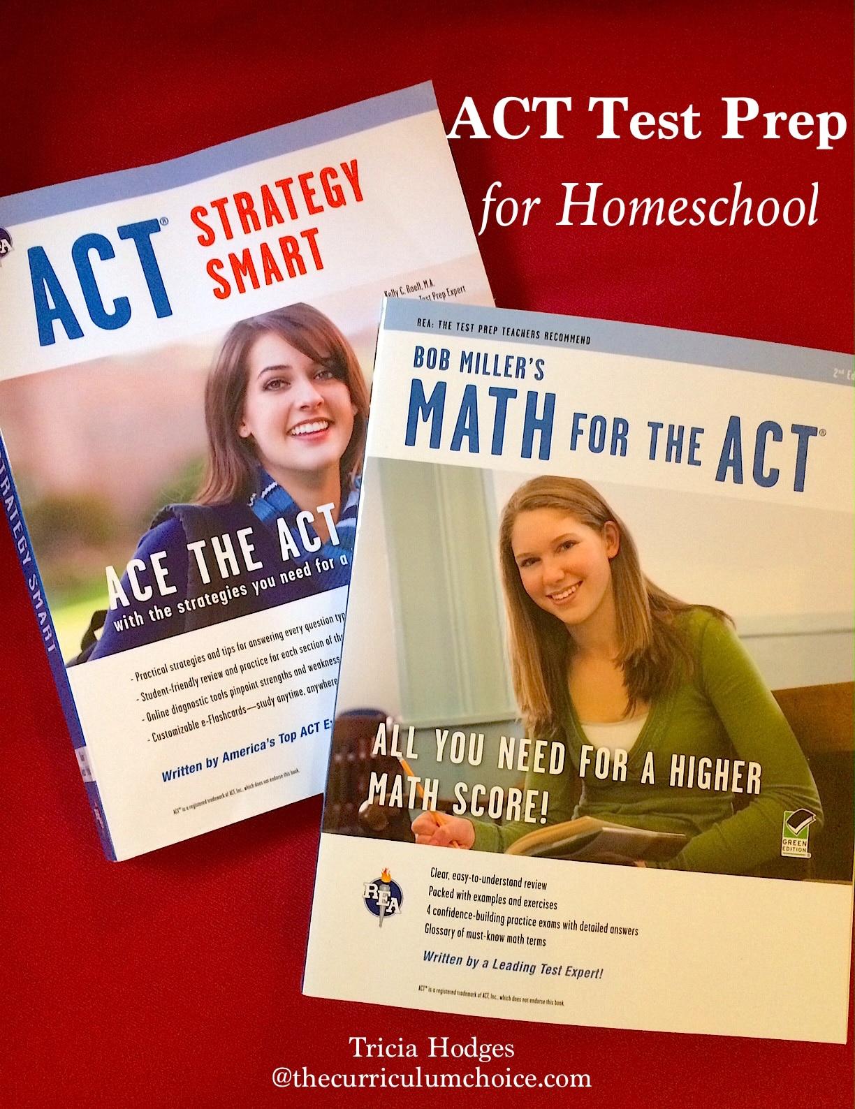 Act Test Prep For Homeschool