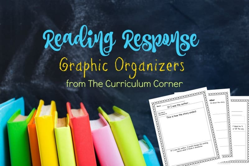These free reading response graphic organizers can add to your collection of reading workshop resources.