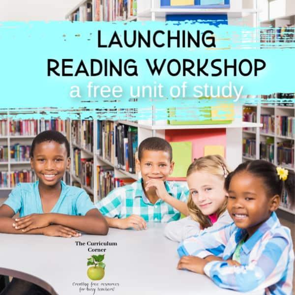 Launching Readers' Workshop