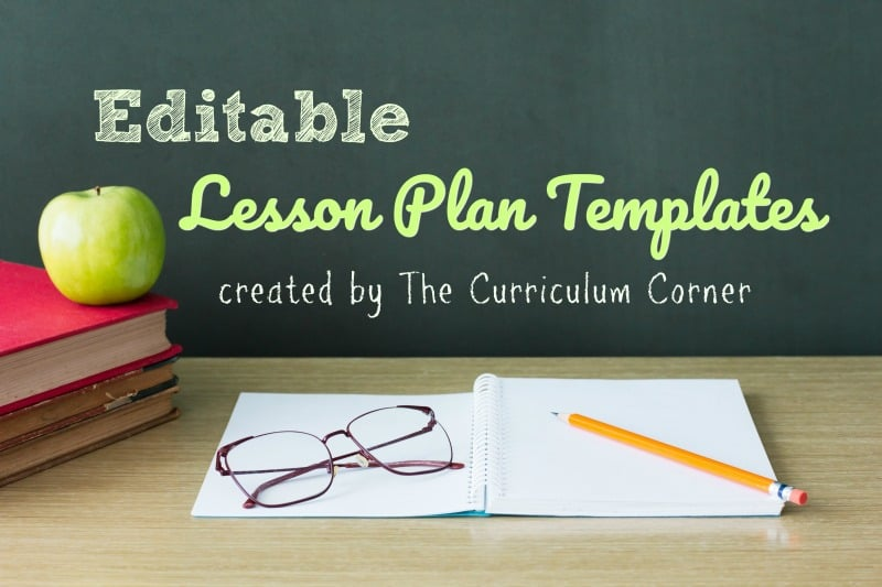 Lesson Plan Templates   The Curriculum Corner 123 These free elementary classroom lesson plan templates are provided as a  PowerPoint document so they are fully editable