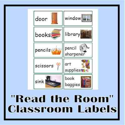 Read the Room Classroom Labels