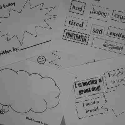 How I Feel Emotions Journal