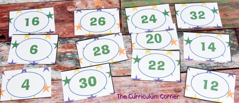 FREE Skip Counting by 2s, 5s and 10s Resources from The Curriculum Corner 5