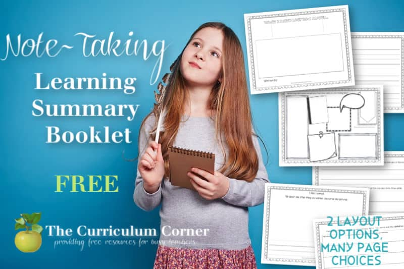 Free learning summary booklets
