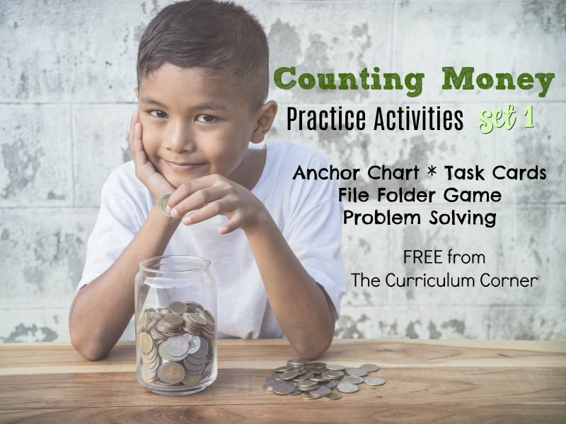 We've collected an assortment of counting money activities and games to help you give your students money counting practice in the classroom.