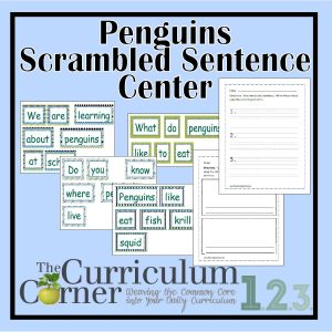 Penguin Scrambled Sentences
