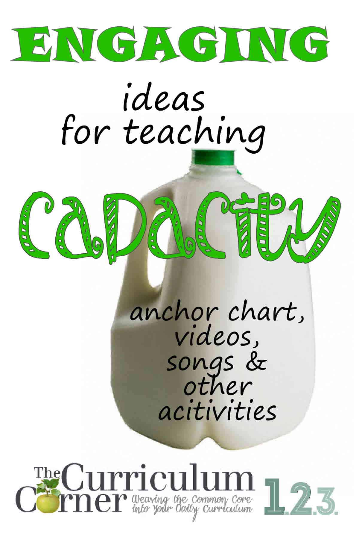Engaging Ways To Help Children Learn Capacity