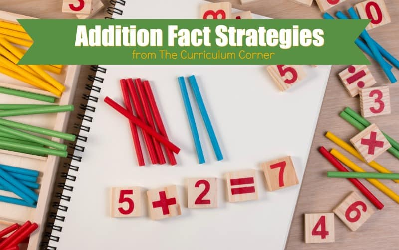 These addition fact strategies will help as you are working with your students to master their addition facts.