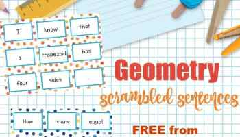 2nd Grade Geometry - The Curriculum Corner 123