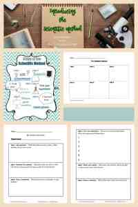 FREE Scientific Method Lesson Plan and Anchor Chart from The Curriculum Corner
