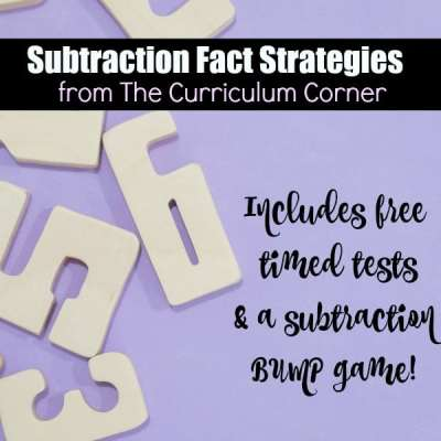 Strategies to Help Students Master Subtraction Facts