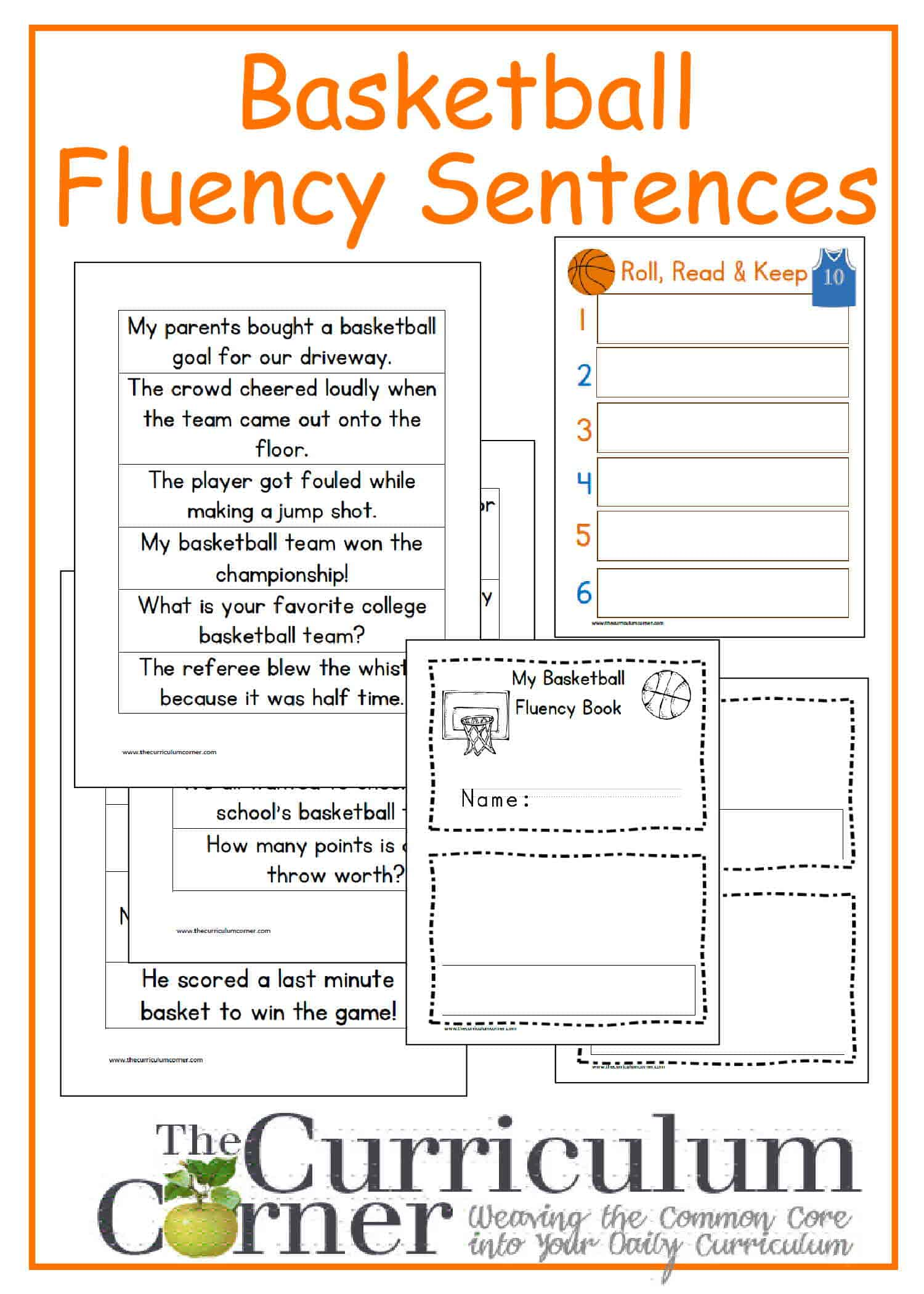 Writing Fluency Worksheet
