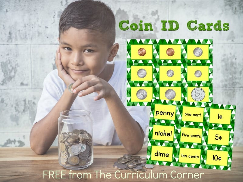 We have created these free coin sorting task cards to help you give your students coin ID practice as the skill is taught and then reviewed.