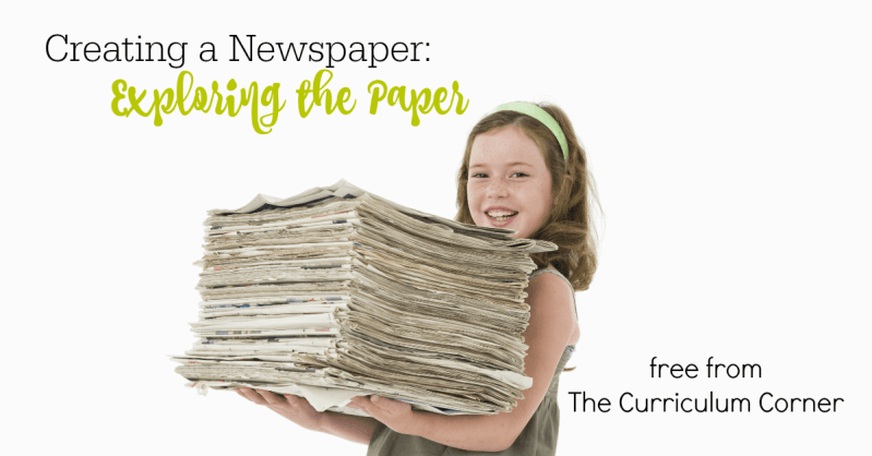 This collection of free resources can be used to help your student writers as they begin exploring newspapers to learn about the important features.