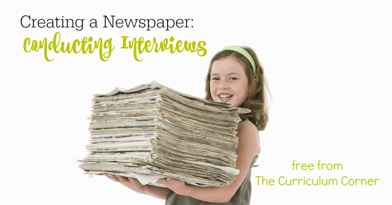 This set of conducting interviews lessons can be used to help your student writers as they begin exploring newspapers and learn to create their own.