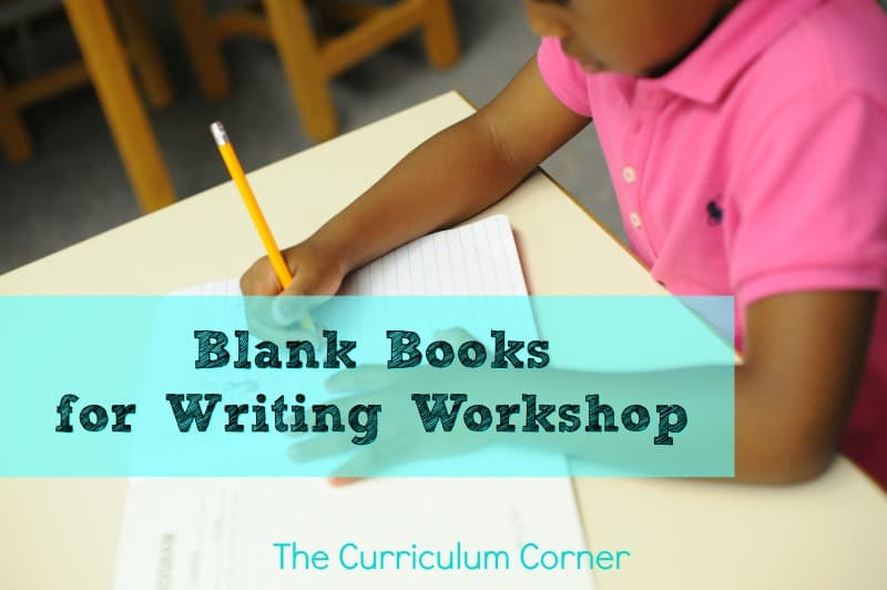 FREE Blank Books for Writing Workshop