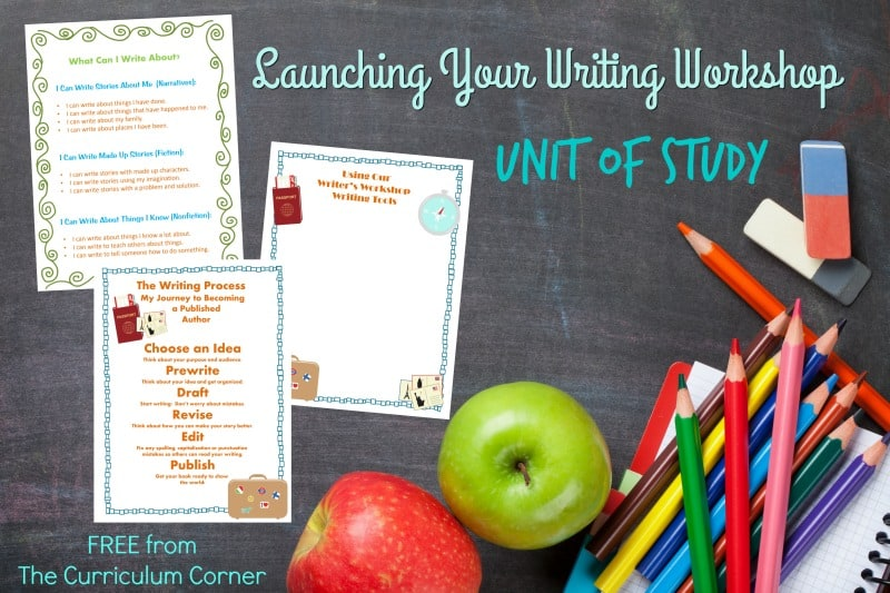 Launching Your Writing Workshop