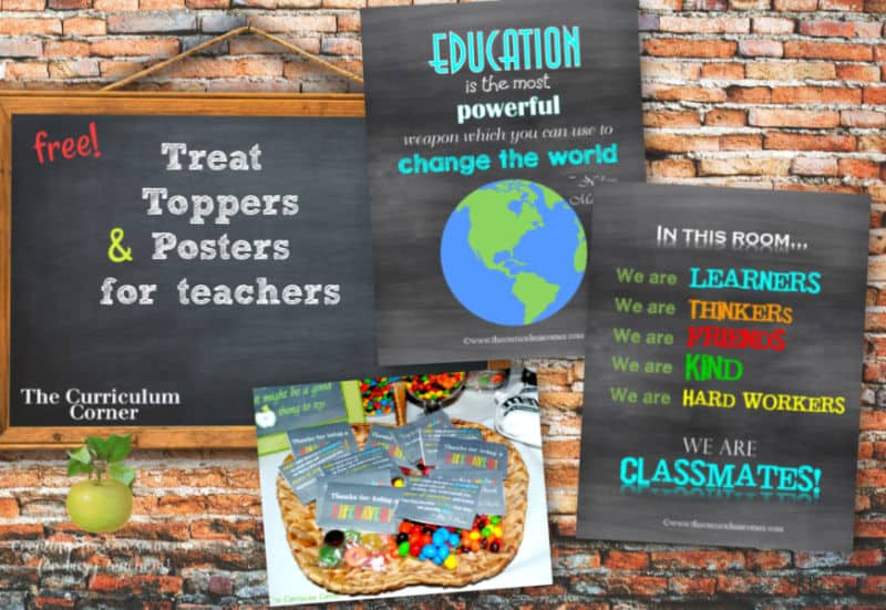 treat toppers for teachers