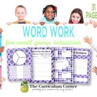 Word Work Activities for Small Groups