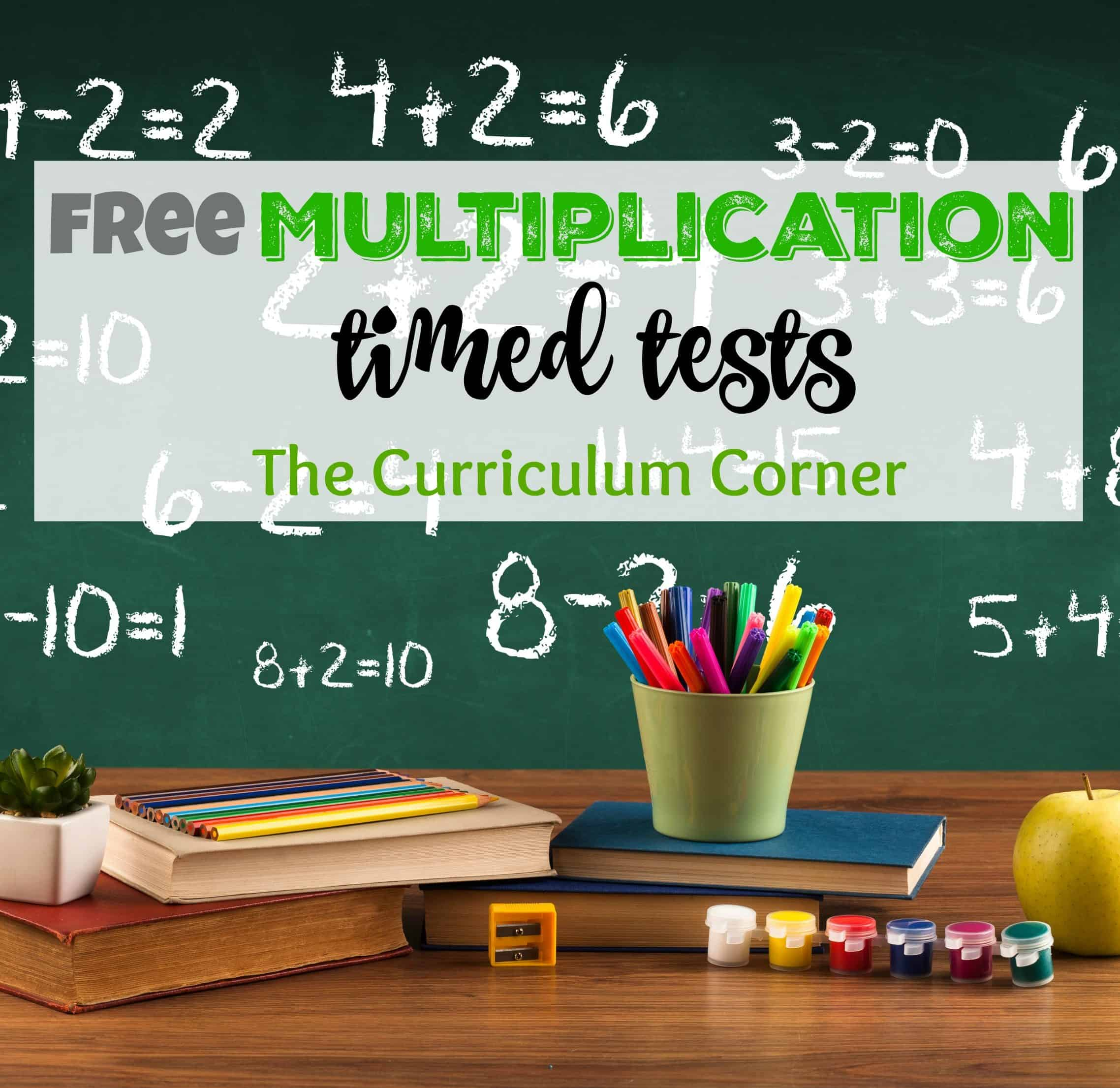 Updated Multiplication Timed Tests