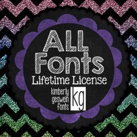 The Curriculum Corner LOVES KG Fonts!