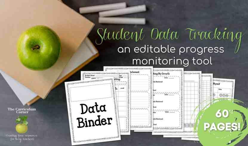 Student Data Tracking - The Curriculum Corner 123