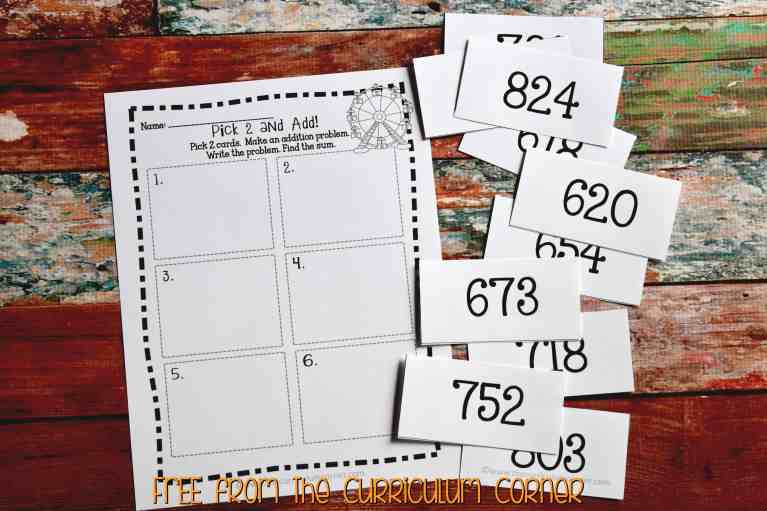 FREE 3rd Grade Sub Plans - perfect for an emergency absence from The Curriculum Corner A full day of plans!