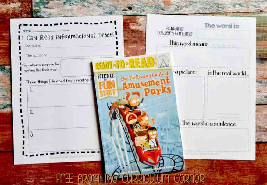 FREE 3rd Grade Sub Plans - perfect for an emergency absence from The Curriculum Corner includes a variety of literacy activities!