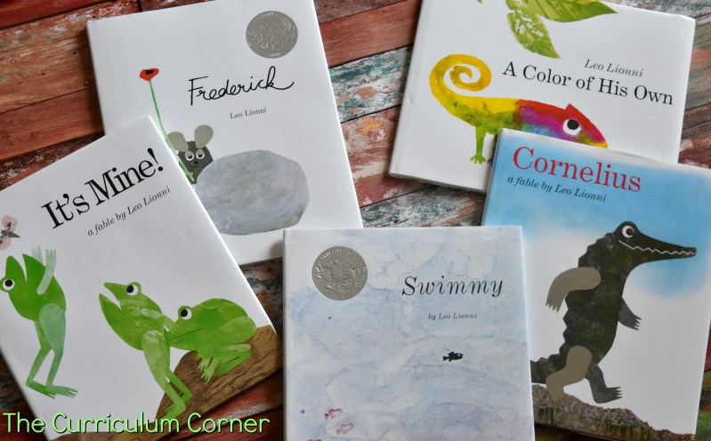 FREE Leo Lionni Resources from The Curriculum Corner FREE set