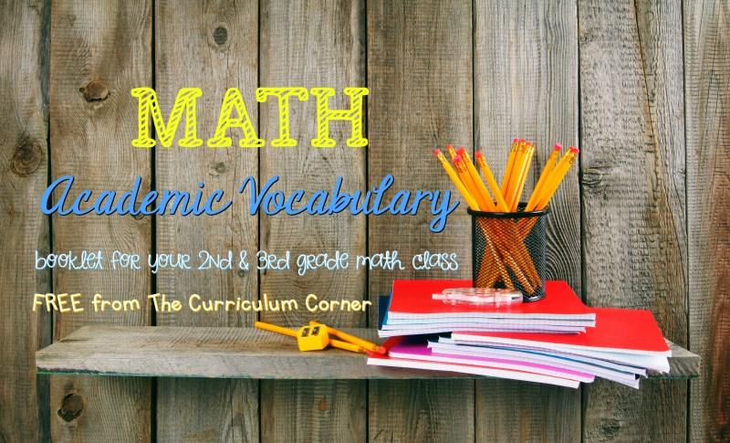 Math Vocabulary 2