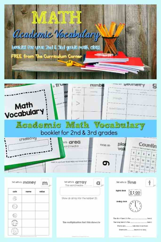 Math Vocabulary 4