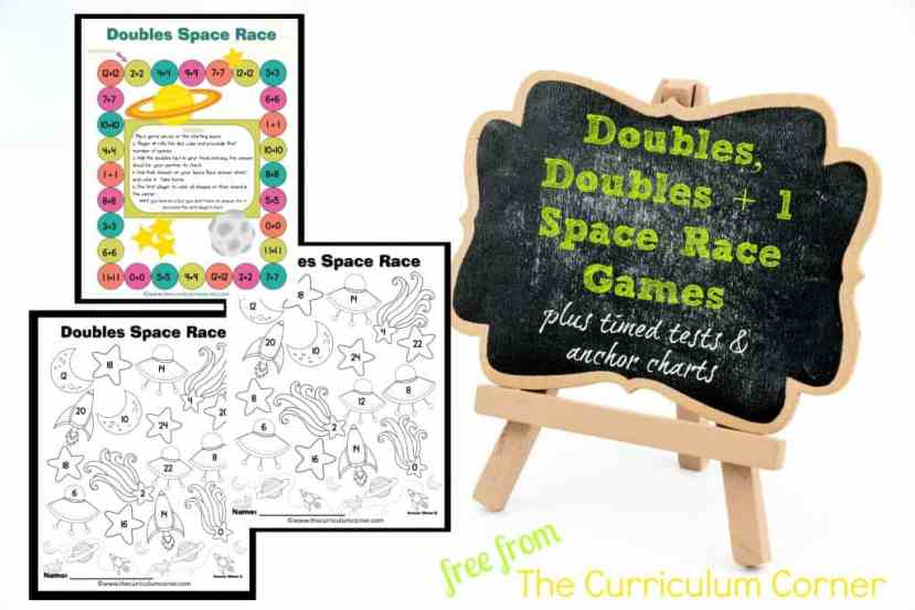 Doubles Addition Games